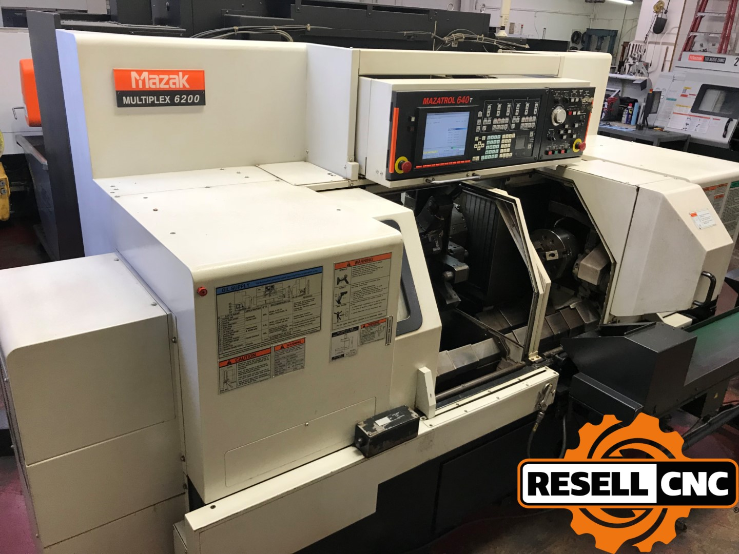 Mazak MP-6200 CNC Lathes | Used CNC - Resell CNC