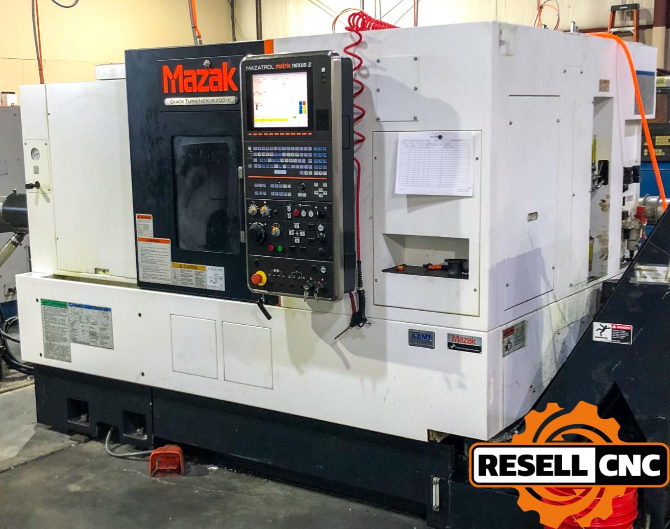 Used CNC Lathe - Used CNC Lathes & Used Mazak | Resell CNC
