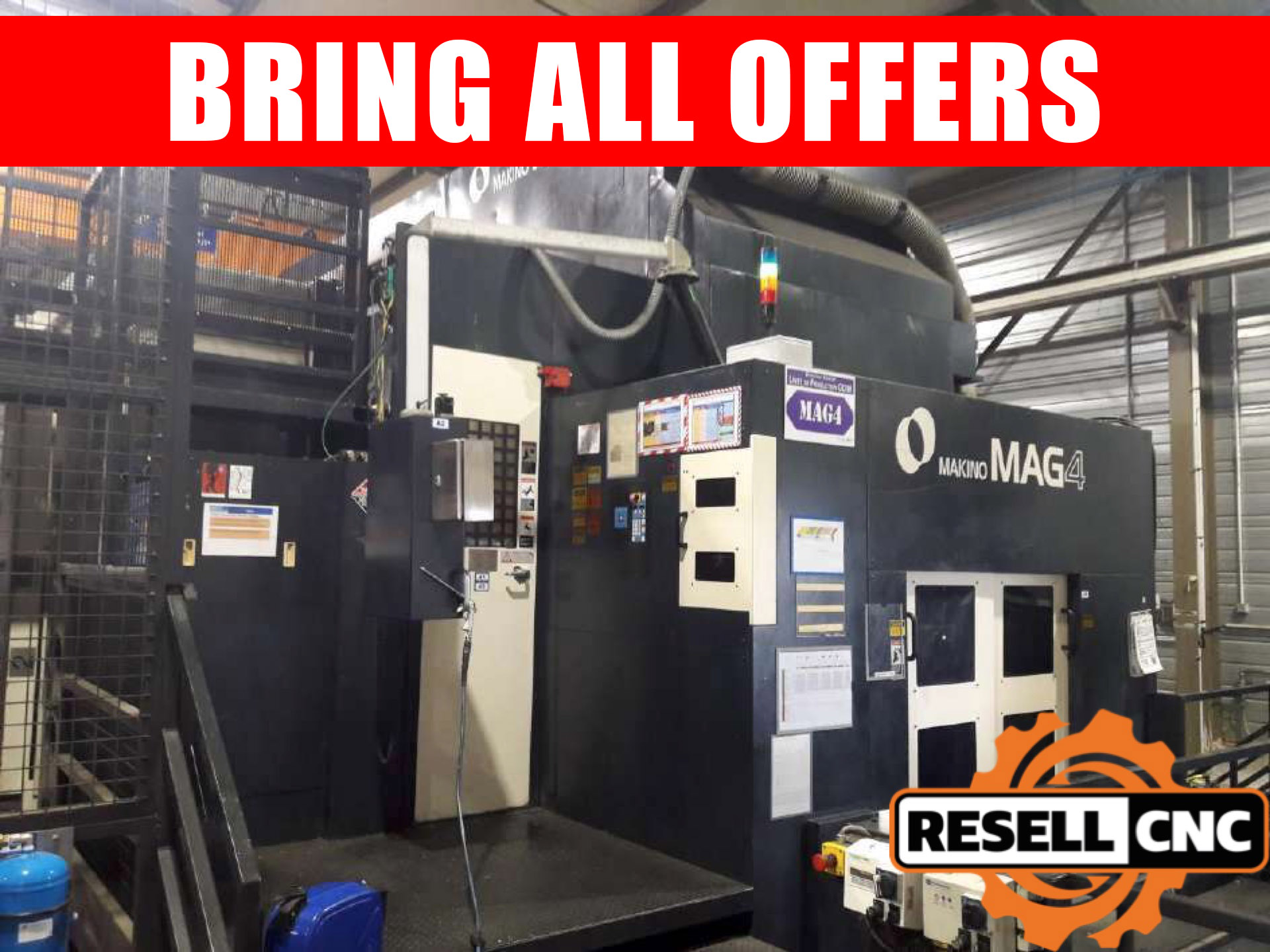 Used CNC Horizontals - Used CNC Horizontal Machines | Resell CNC